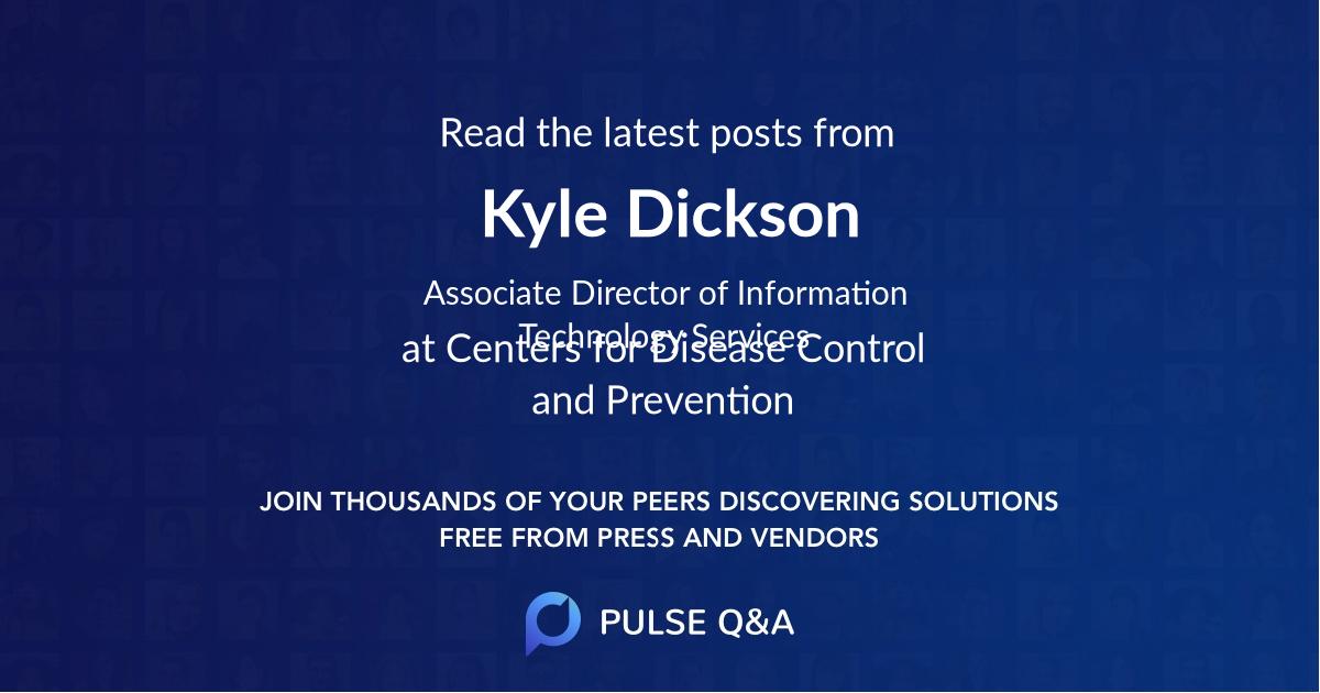 Kyle Dickson