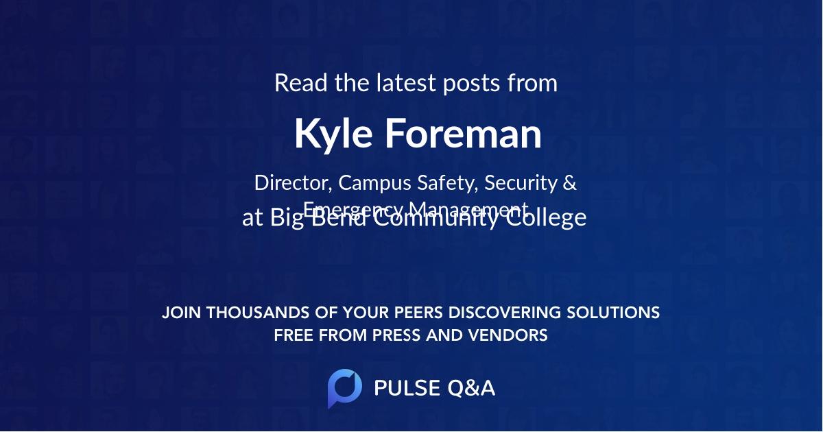 Kyle Foreman
