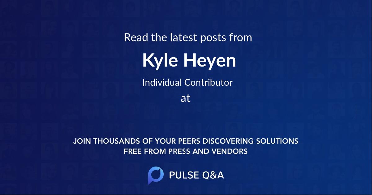 Kyle Heyen