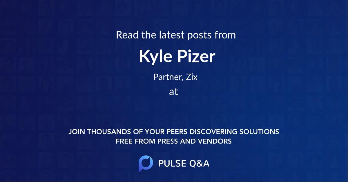 Kyle Pizer