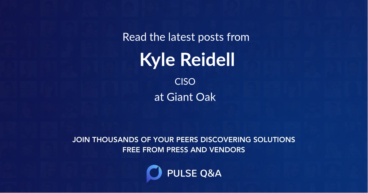 Kyle Reidell