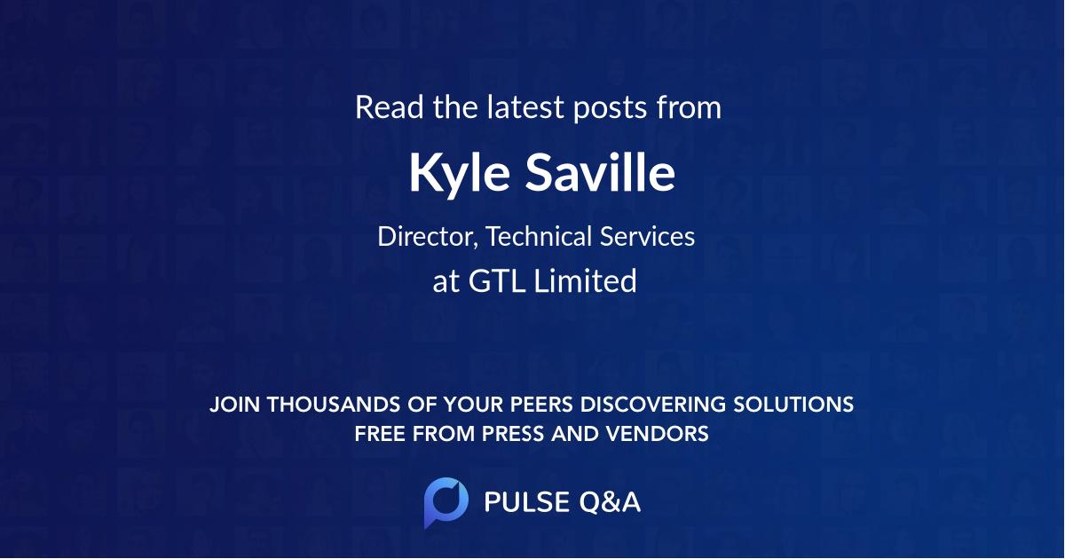 Kyle Saville