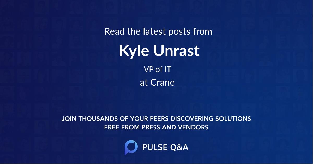 Kyle Unrast