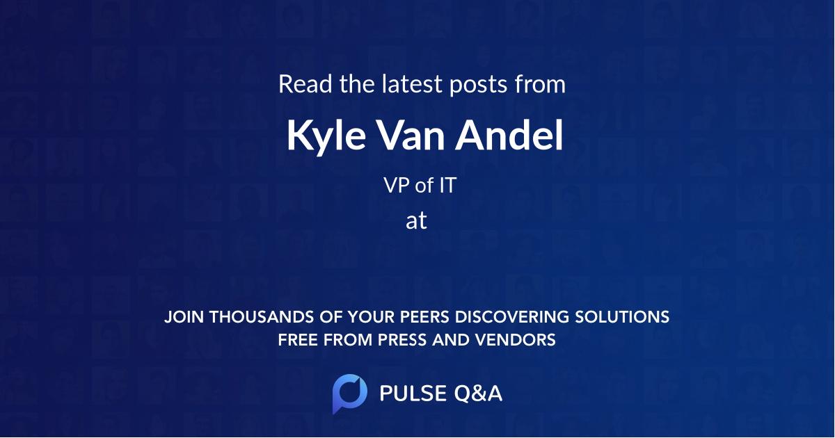 Kyle Van Andel