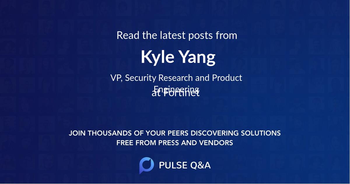 Kyle Yang