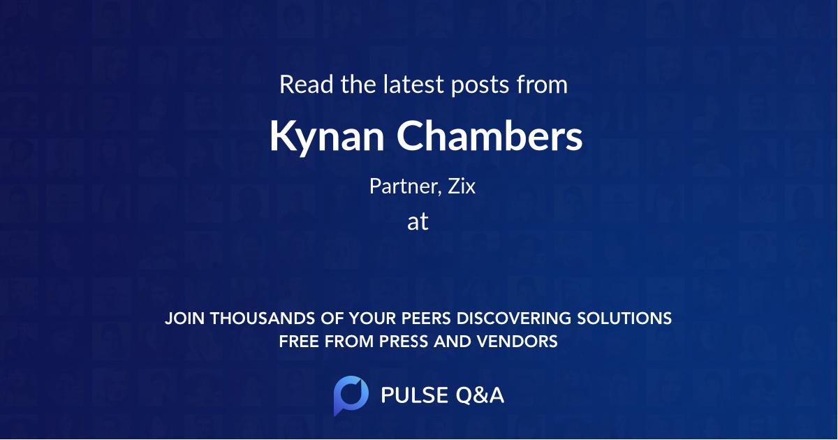 Kynan Chambers