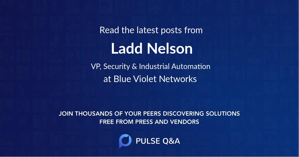 Ladd Nelson