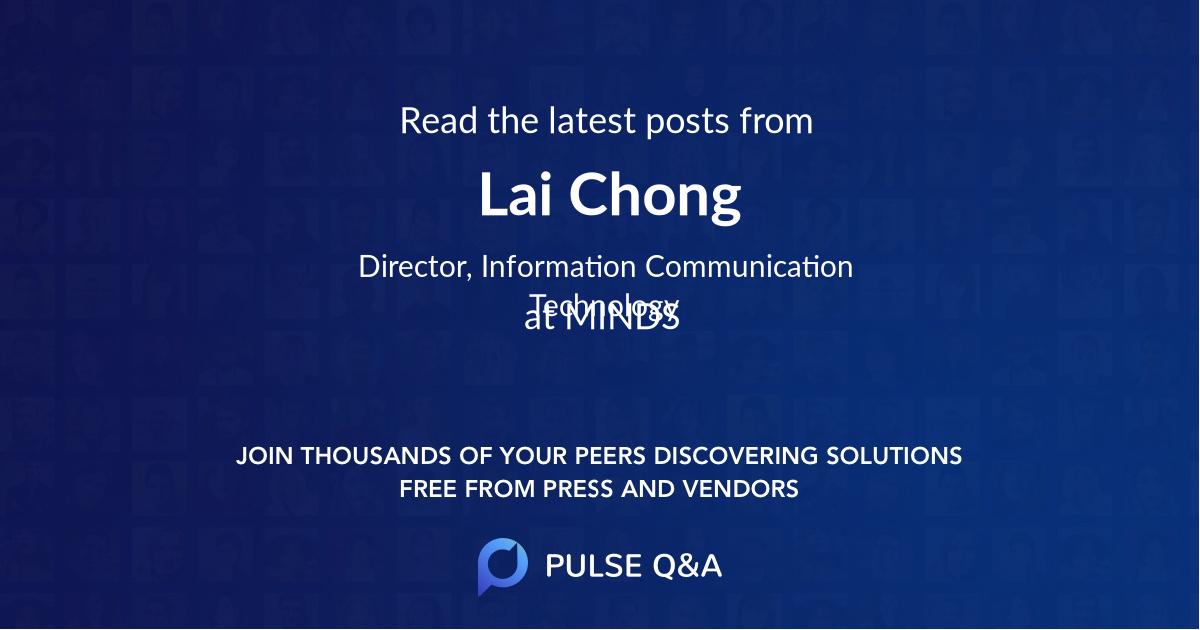 Lai Chong