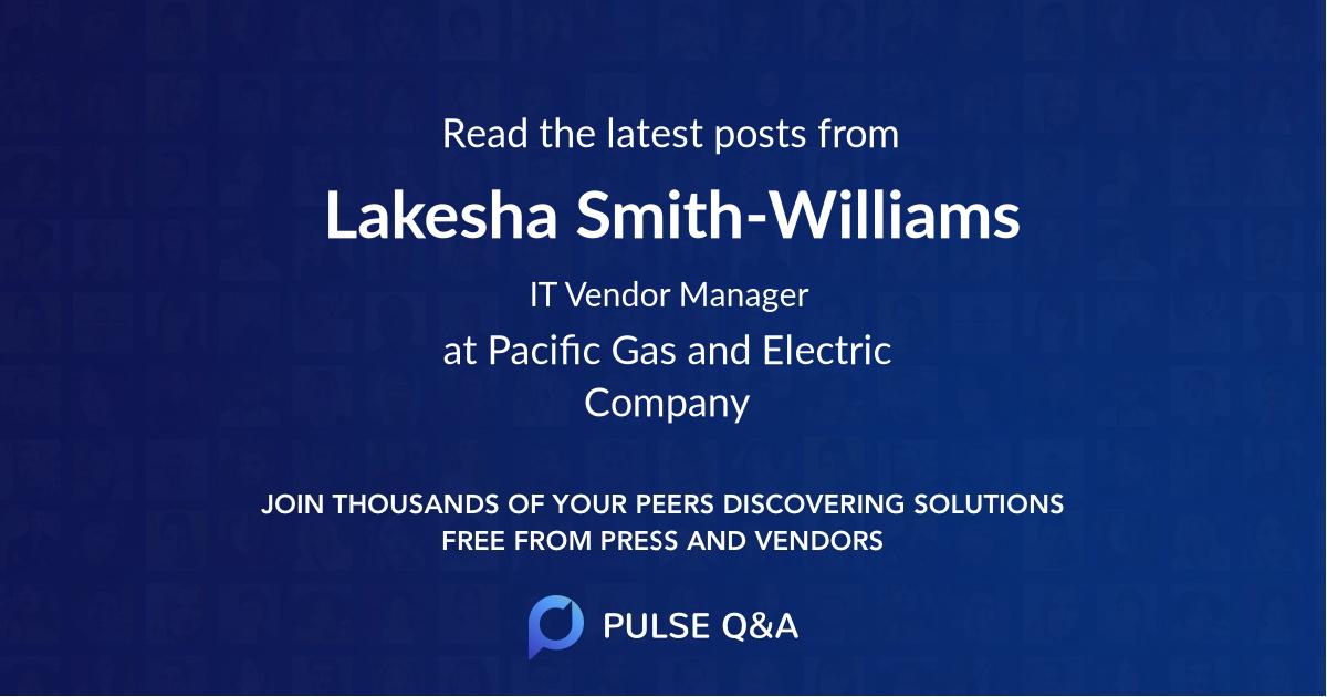 Lakesha Smith-Williams