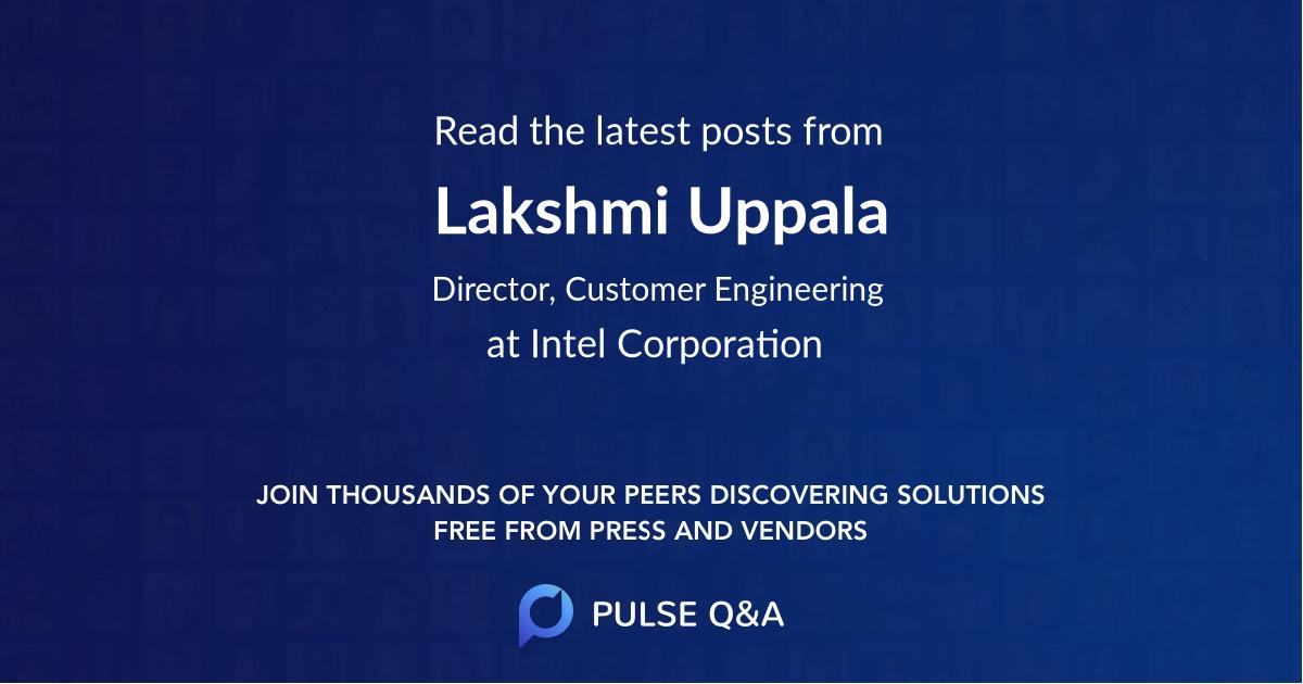 Lakshmi Uppala