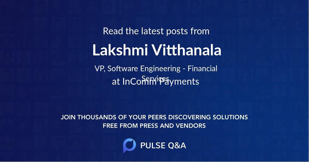 Lakshmi Vitthanala