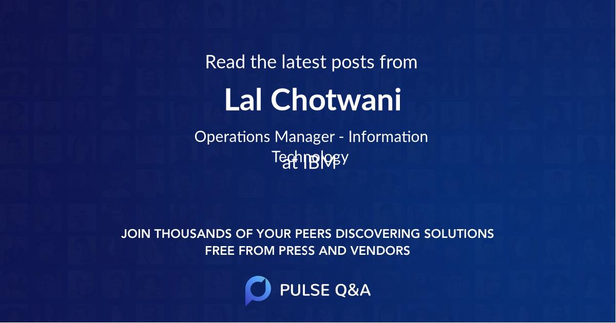 Lal Chotwani