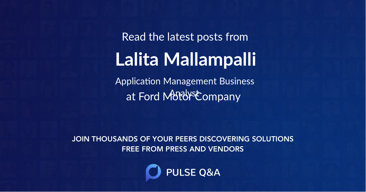 Lalita Mallampalli