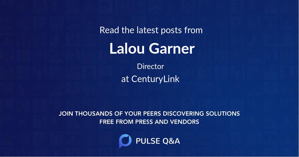 Lalou Garner