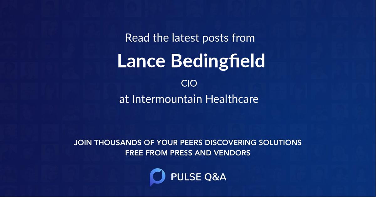 Lance Bedingfield