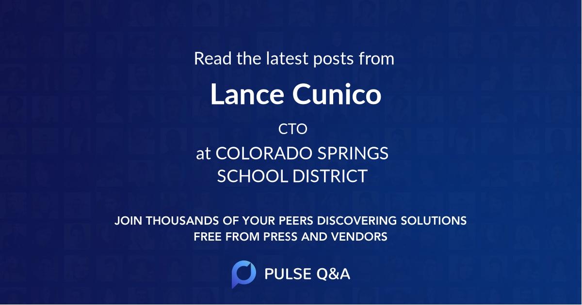 Lance Cunico