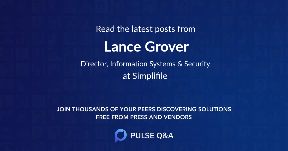 Lance Grover