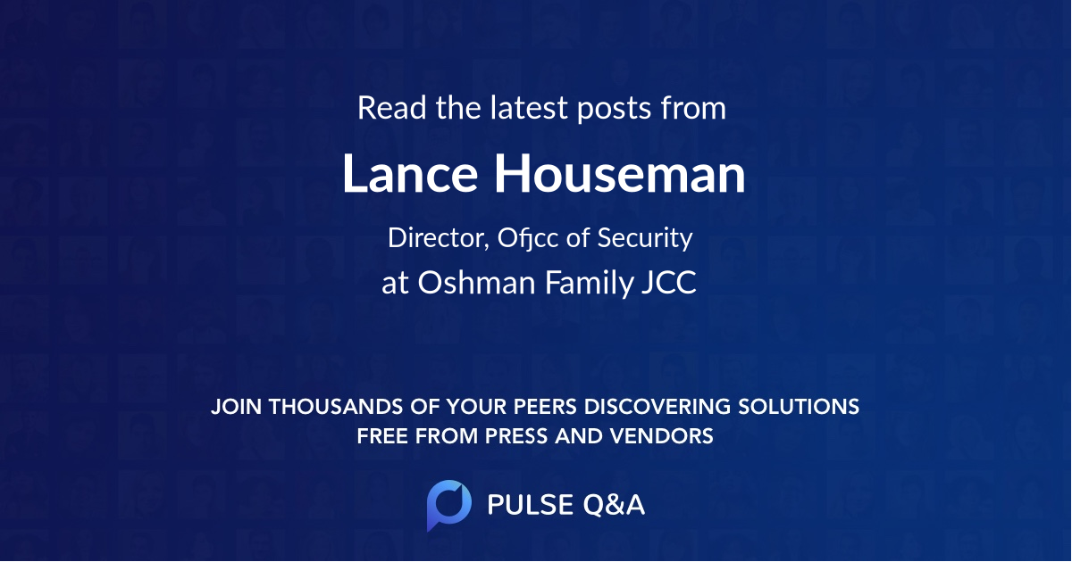 Lance Houseman