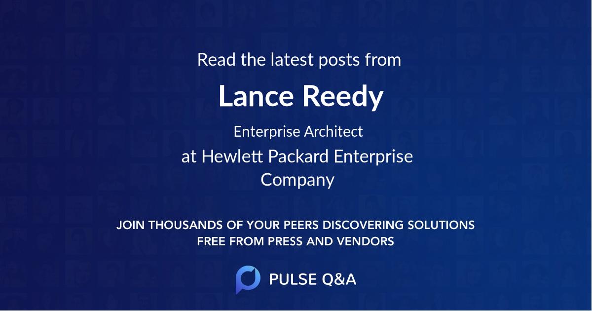 Lance Reedy