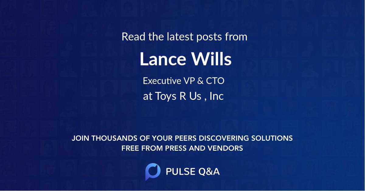 Lance Wills