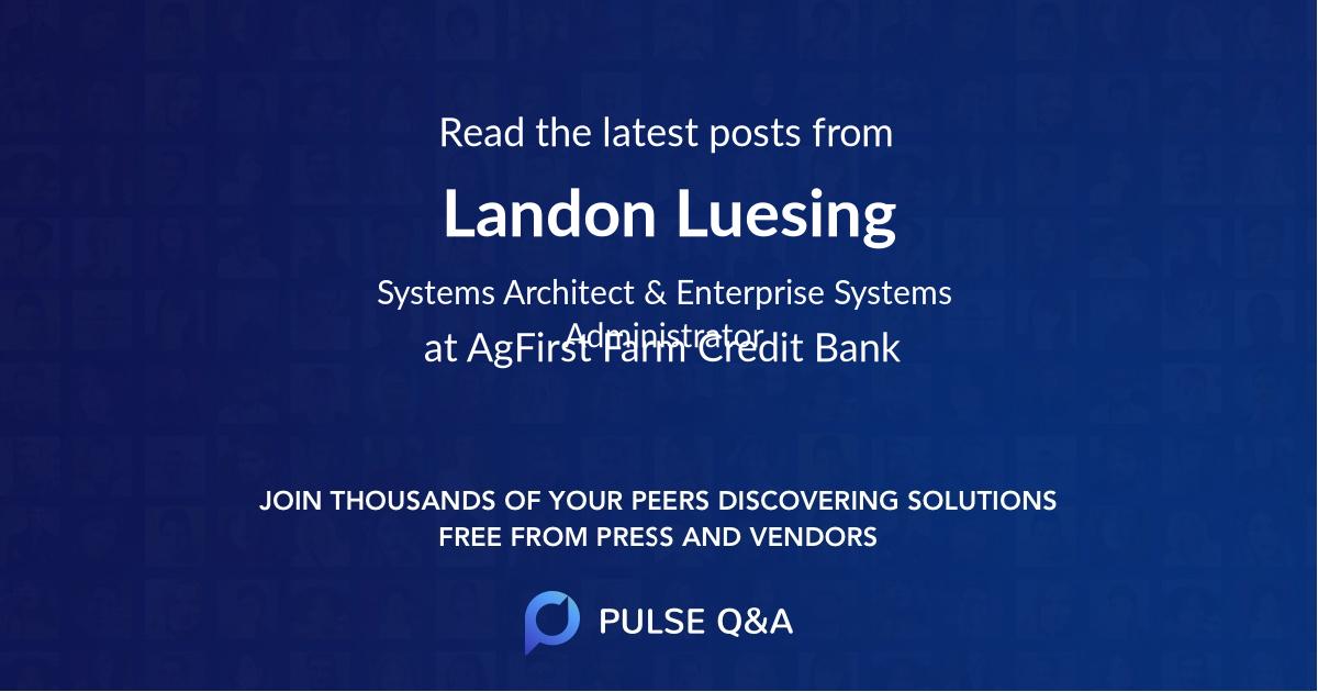 Landon Luesing