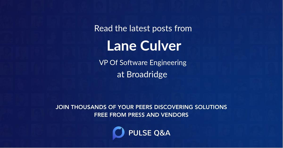 Lane Culver