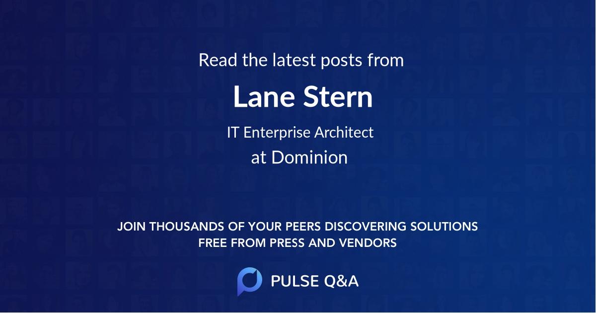 Lane Stern