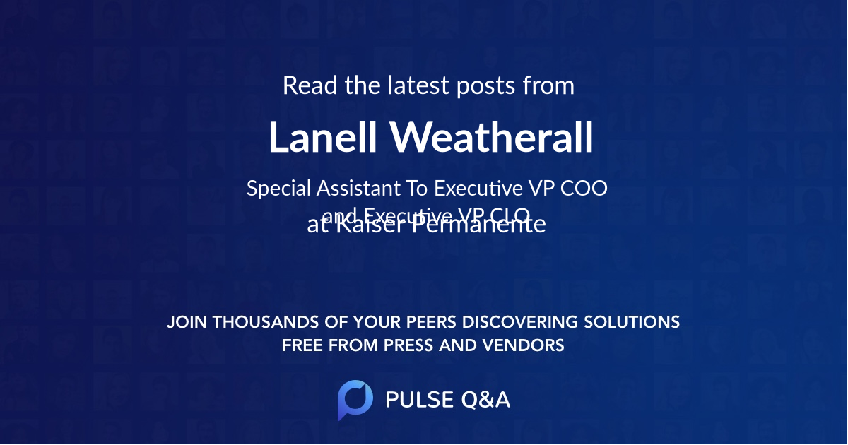 Lanell Weatherall