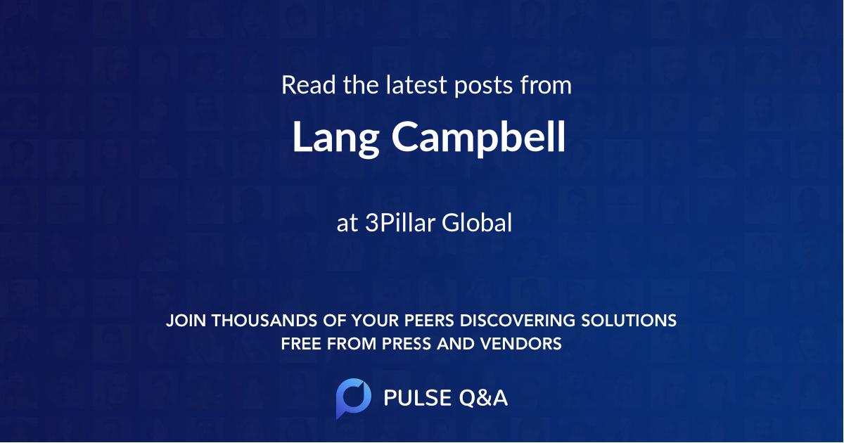 Lang Campbell