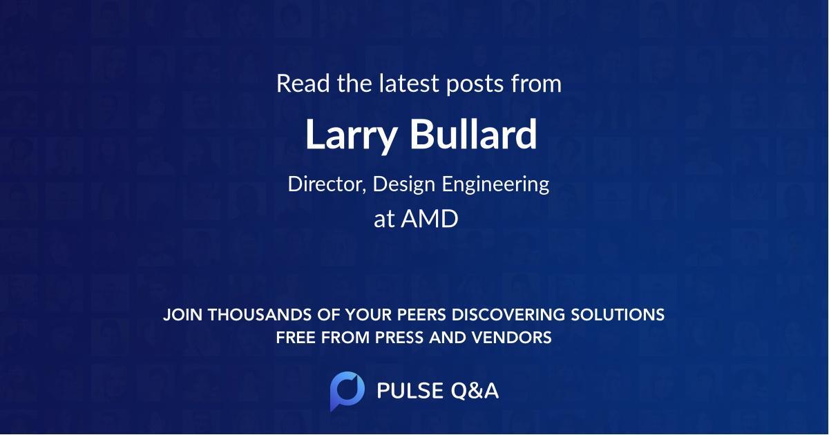 Larry Bullard