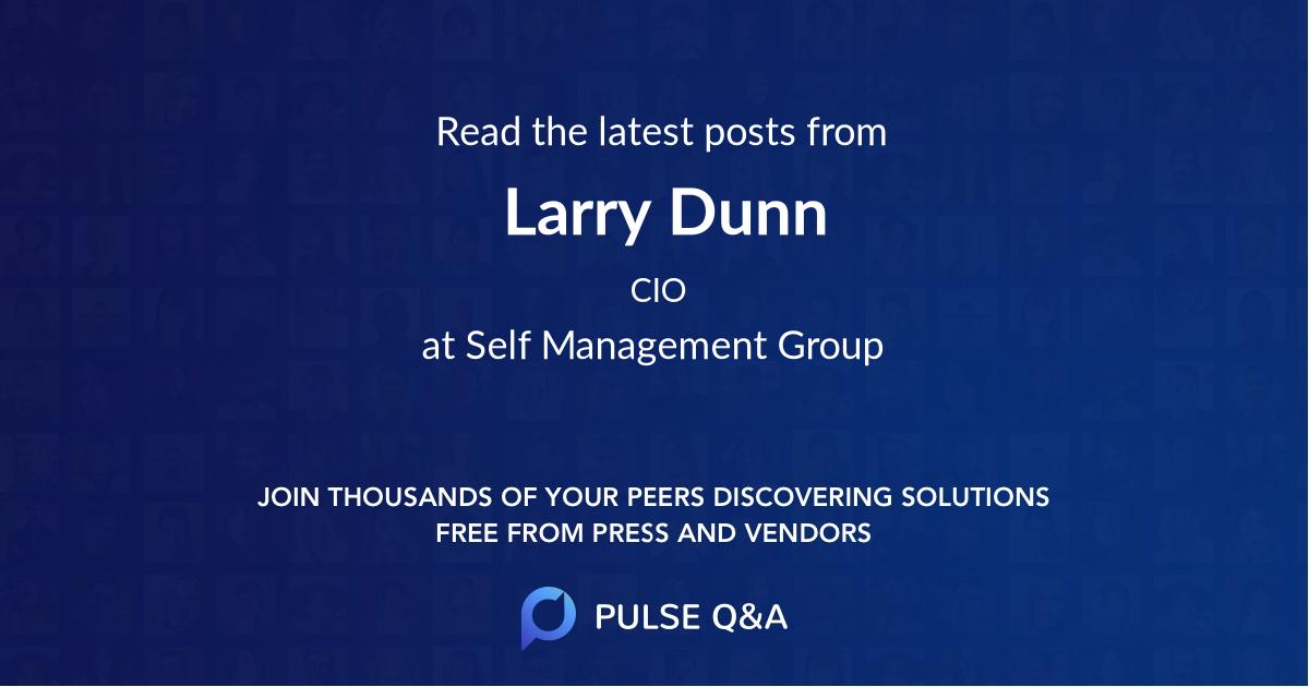 Larry Dunn