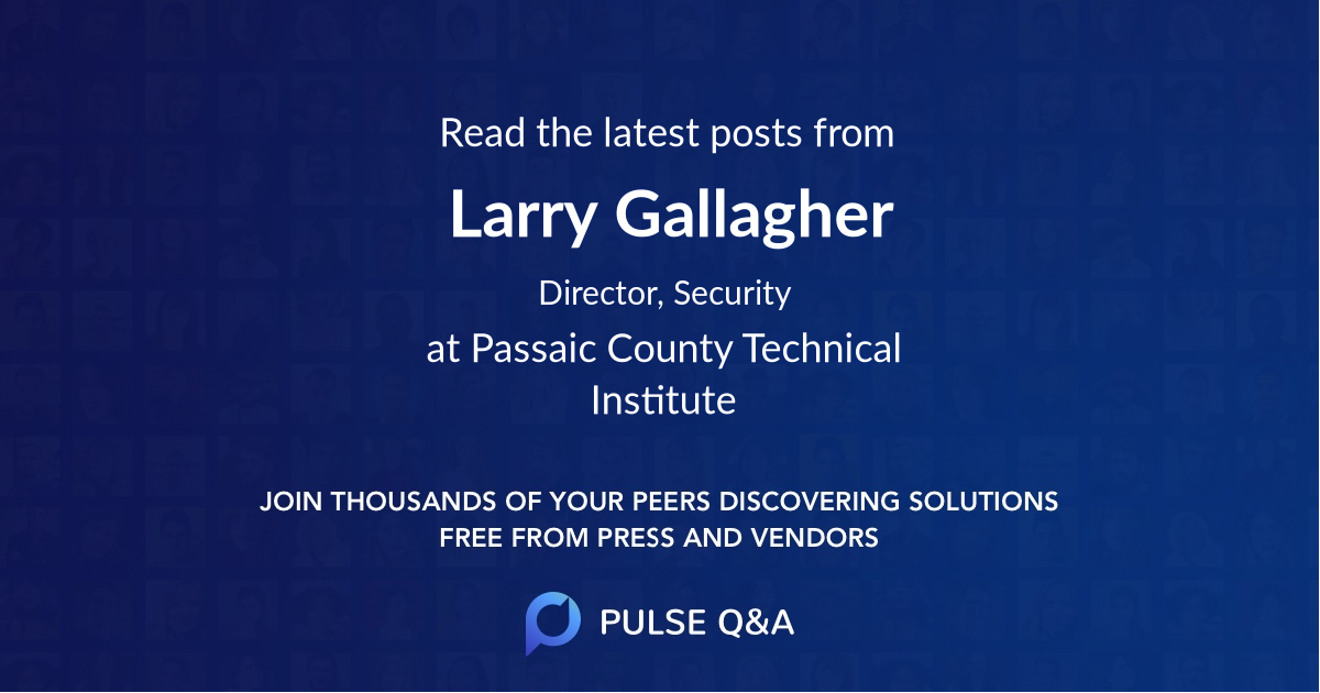 Larry Gallagher