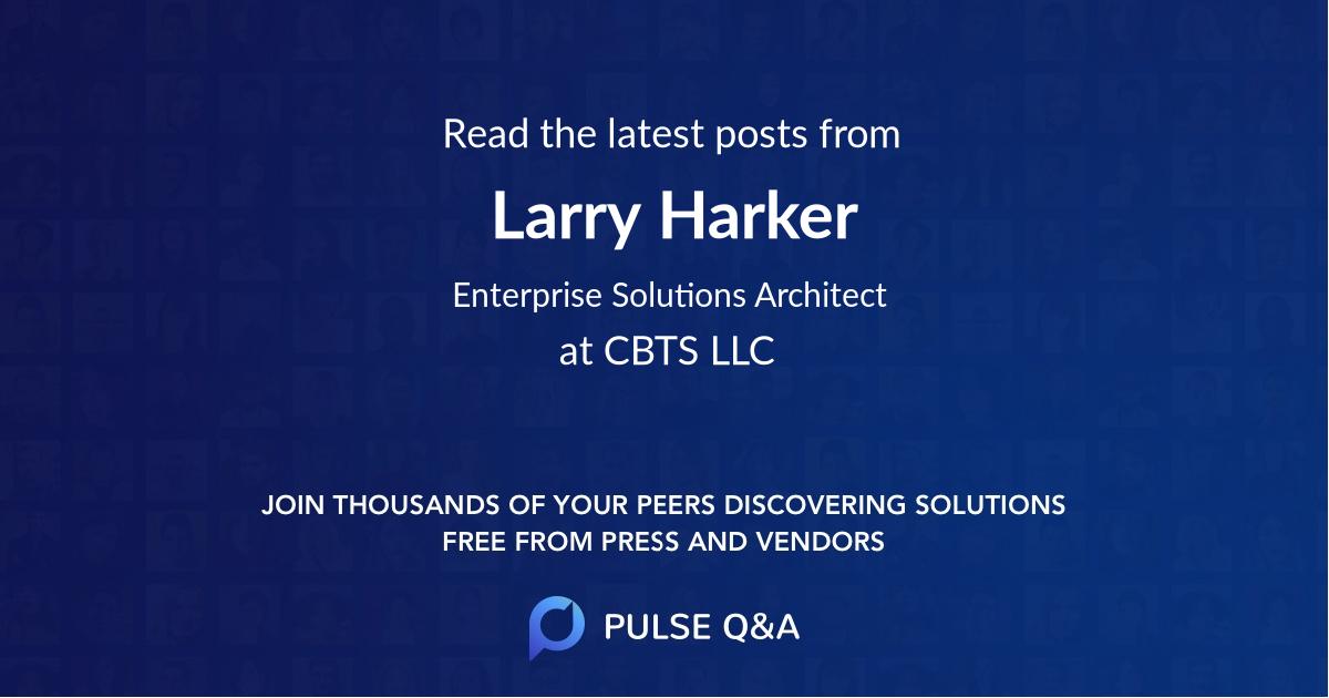 Larry Harker