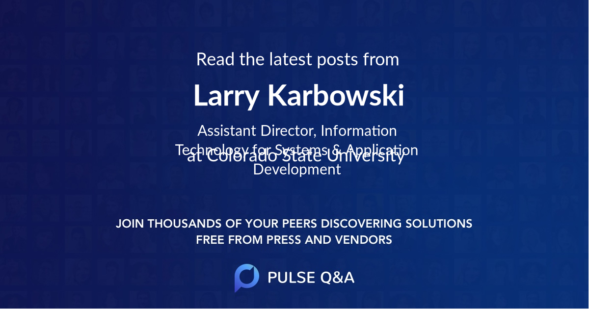 Larry Karbowski