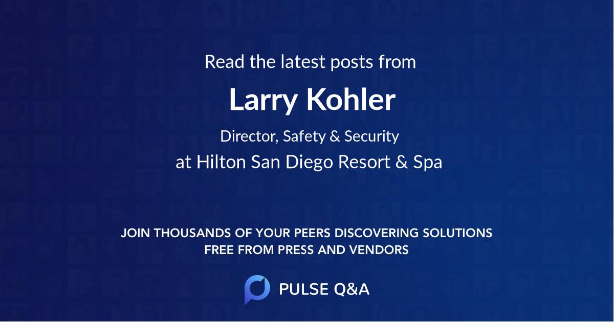 Larry Kohler