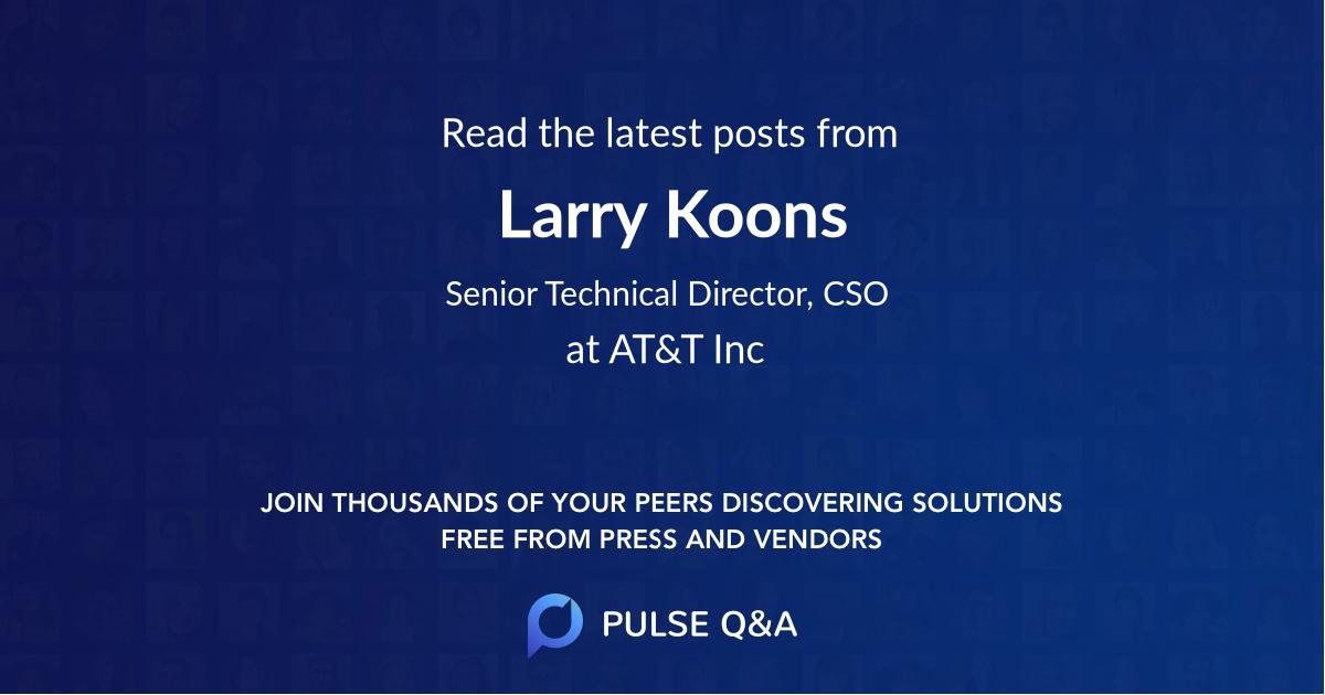 Larry Koons
