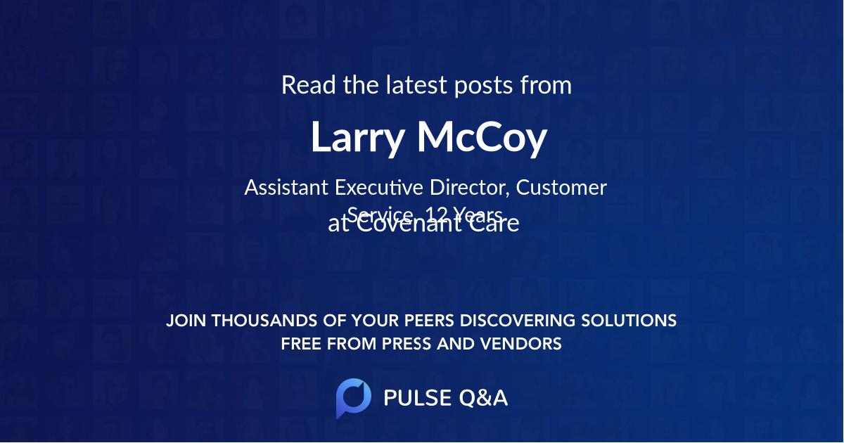Larry McCoy