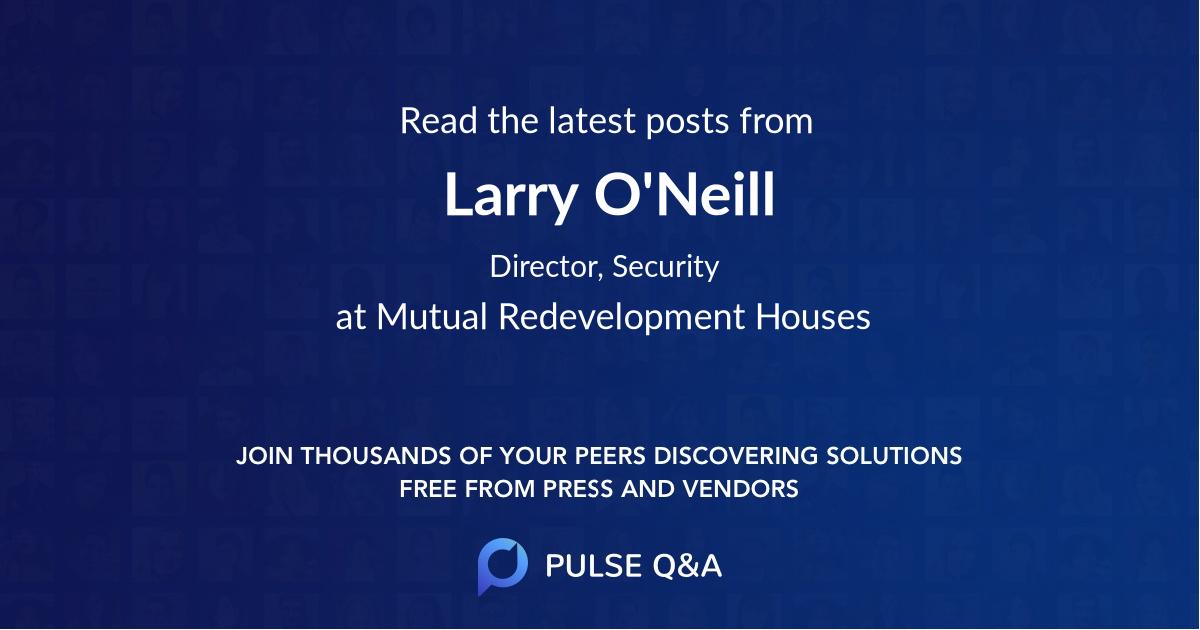 Larry O'Neill