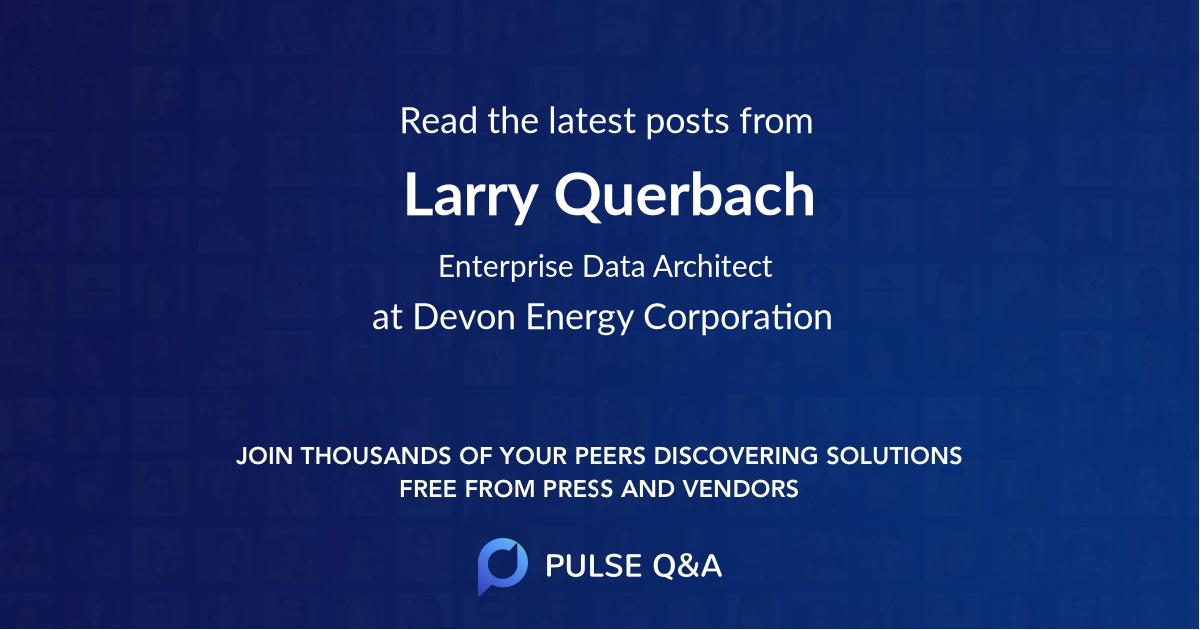 Larry Querbach