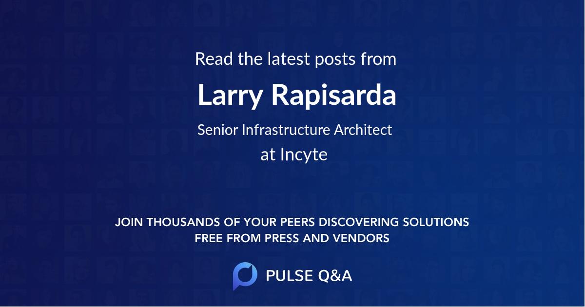 Larry Rapisarda