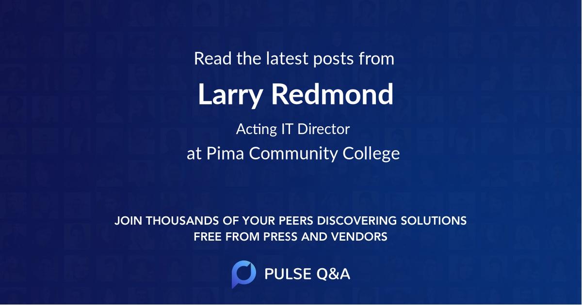 Larry Redmond