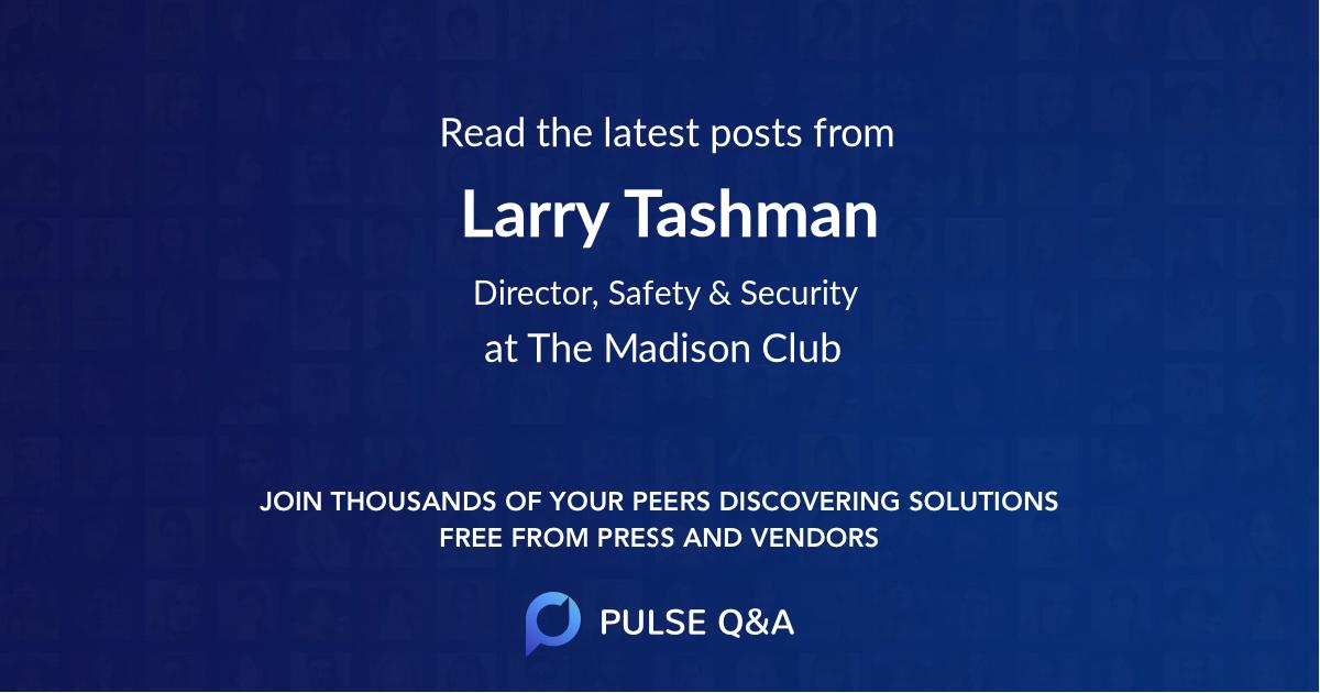 Larry Tashman