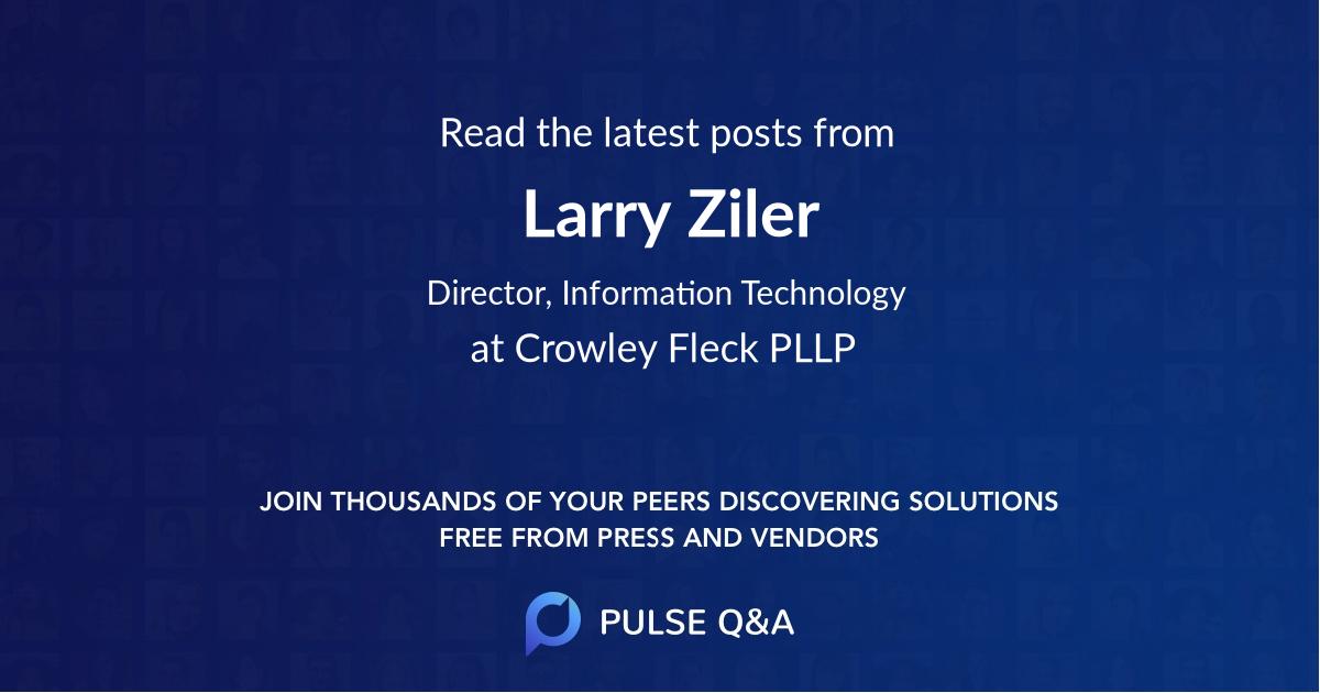Larry Ziler