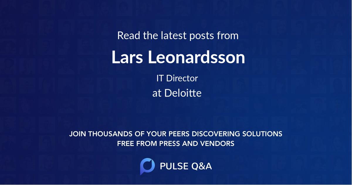 Lars Leonardsson