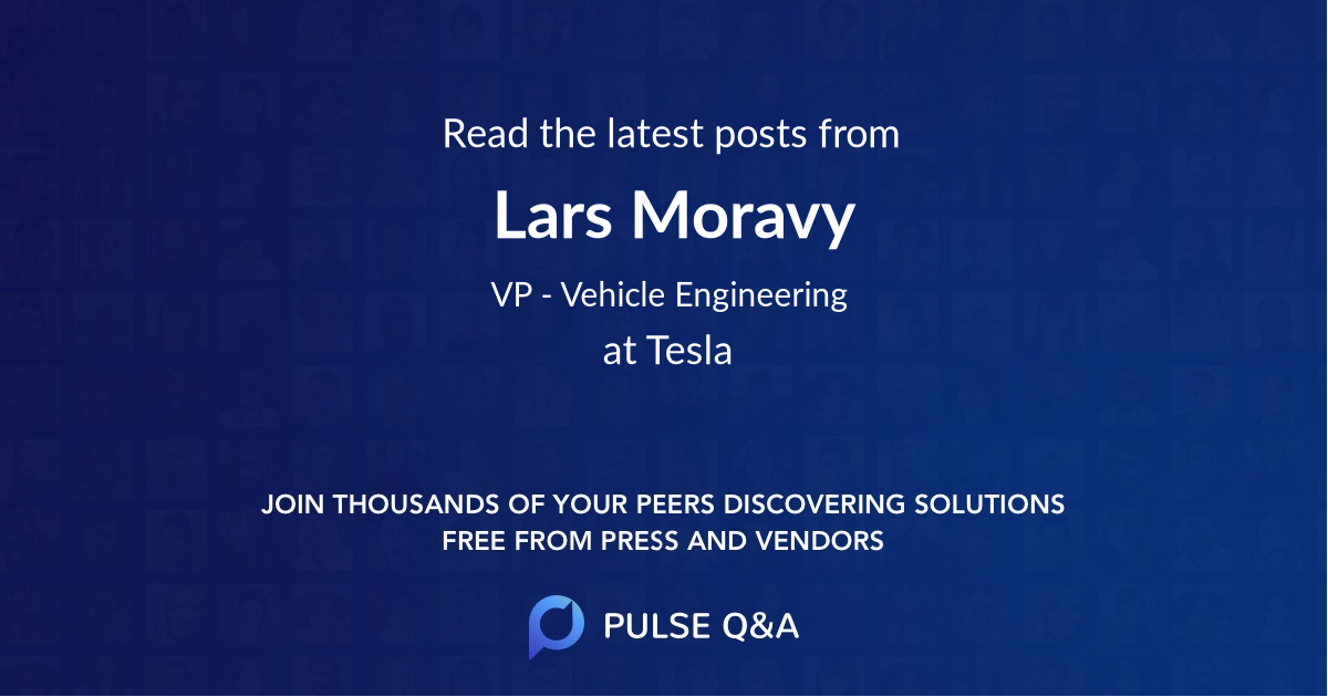 Lars Moravy