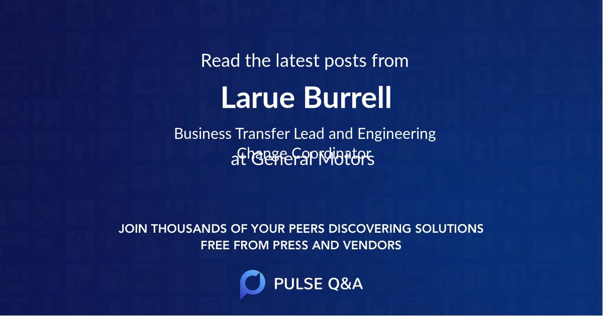 Larue Burrell