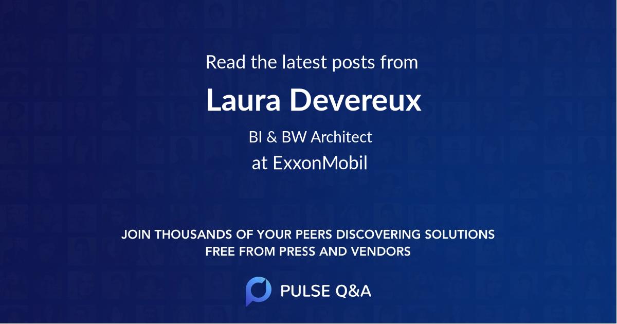 Laura Devereux
