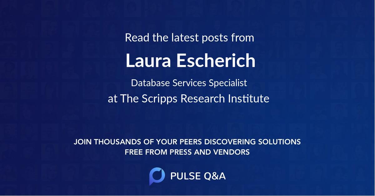 Laura Escherich