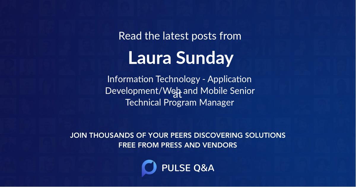 Laura Sunday