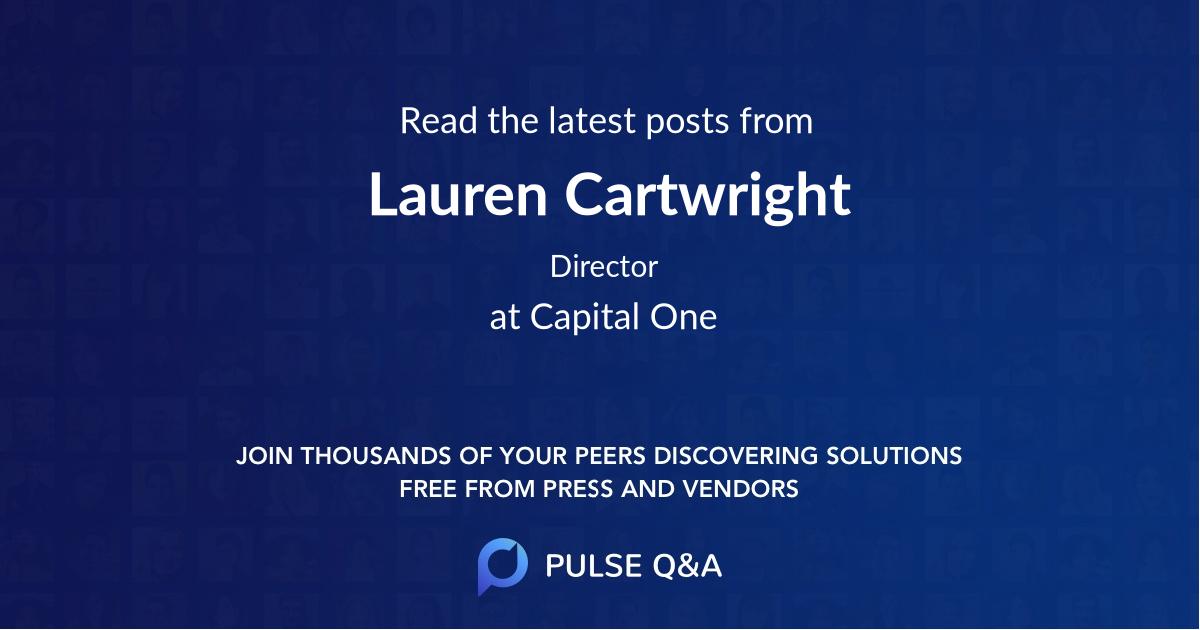 Lauren Cartwright